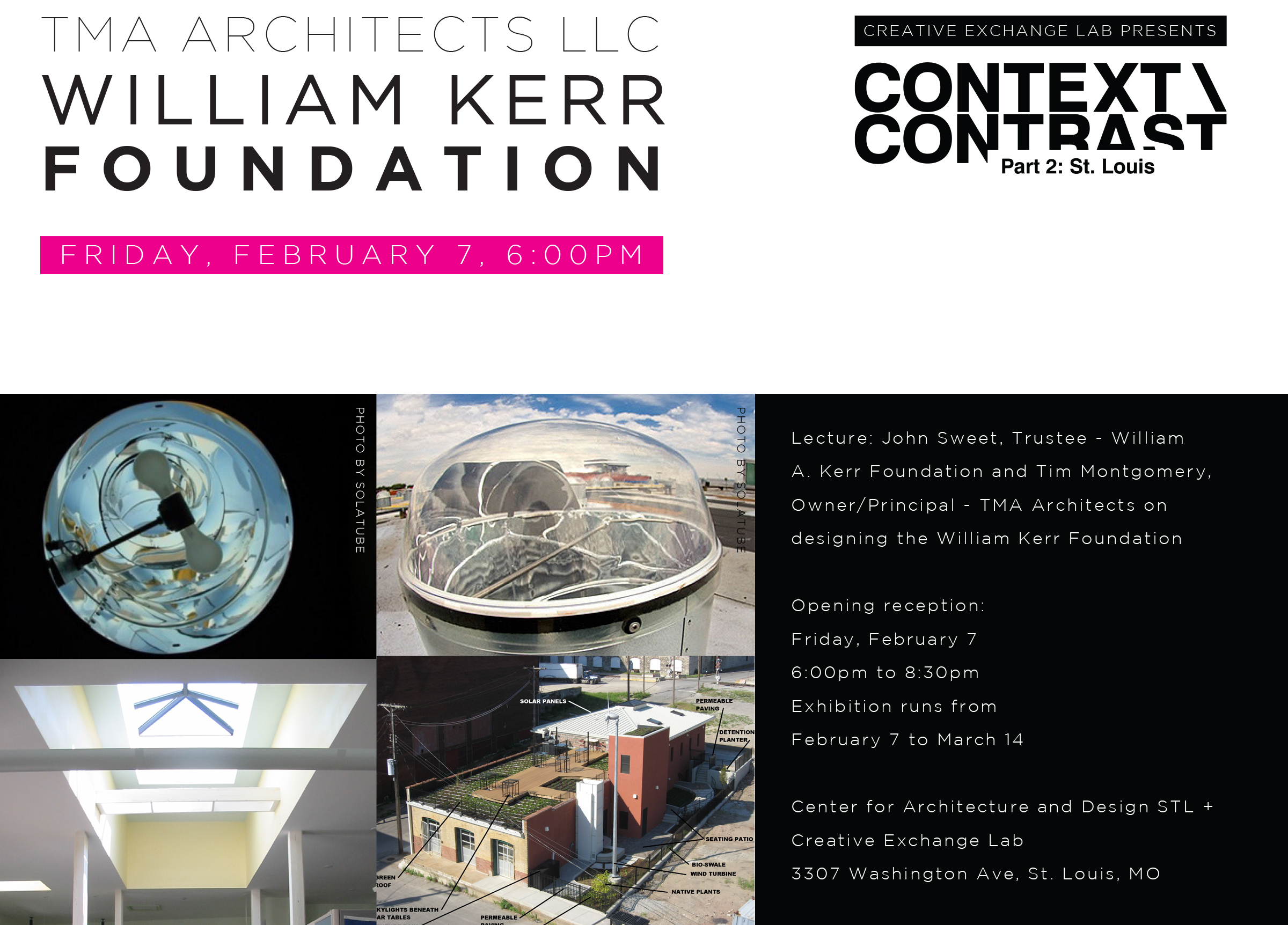 TMA Architects - William Kerr Foundation Postcard (FRONT) v3
